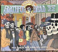 Grateful Dead: Dave's Picks Vol. 22 Felt Forum 12/7/71 (Sealed/OOP) w/bonus disc
