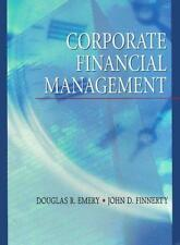 Corporate Financial Management: United States Edition, Emery, Douglas R. & Finne