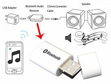 WHT Bluetooth Music Stereo Wireless Audio Receiver Adapter for Speaker Car Radio