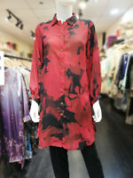 Womens Ladies Boho Long Sleeve Dress Midi Swing Skater Party Top Plus Size 8-26