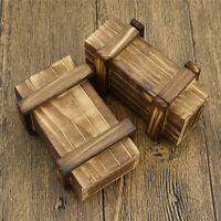 1/6 Scale Model Soldier Wooden Weapons Box Soldier Action Figures Military 2Pcs