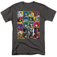 The Transformers Character Square 80's Cartoon Officially Licensed Adult T-Shirt