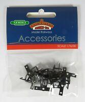BNIB OO Gauge Bachmann 36-025 Mini Loop Screw-On Coupling Short (x10)