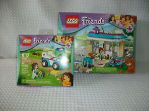 LEGO Friends 41085 & 41086 Vet Clinic and Ambulance  Complete