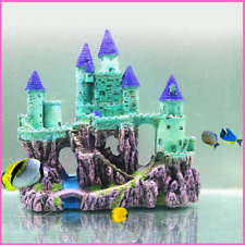 Aquarium Dark Castle Ornaments Simulation Resin Fish Tank Aquarium Decorations