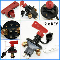 Battery Isolator Disconnect Cut Off Power Kill Switch For Marine Car Boat 12-24V