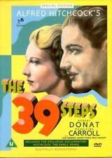 HITCHCOCK THRILLER 1939 = THE 39 STEPS stars ROBERT DONAT MADELEINE CARROLL