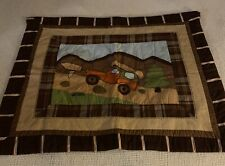 Woolwich Camping Theme Quilted Standard Pillow Sham