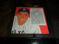 1955 Red Man Tobacco Card AL #21 Jim Piersall BOSTON Red Sox No Tab