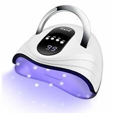 SUN Professional UV+LED Light Nail Lamp Kit 120W Gel Nail Polish Dryer Machine