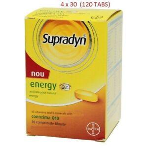 Supradyn Fast Energy Coenzyme Q10 30 Tabs/box or Effervescent Multivitamins