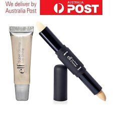 E.L.F. ELF Cosmetics Lip Primer & Plumper - Clear/Natural & Angel Lipgloss