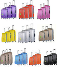 Hard Shell Cabin Suitcase 4 Wheel Luggage Trolley Case Lightweight Travel S M L
