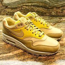 Nike Air Max 1 Pinnacle SZ 8 Buff Gold Lemon Wash Mustard Yellow Lab 859554-701