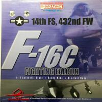 Dragon Models 1:72 Warbirds 50005 F-16C Fighting Falcon 14th FS 432nd FW Lt.Cook