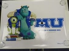 Monsters University UV Coated  Original Film / Movie Poster Quad 76x102cm
