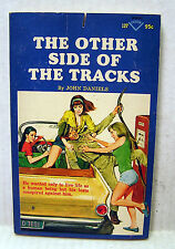 OTHER SIDE OF TRACKS 1967 Slease/Sexy Midnight Paperback Book #127 (B6459)