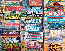 10 x MARVEL COMICS - VARIOUS TITLES - ALL BAGGED - ALL DIFFERENT - 80's - 00's