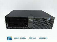 Ordenador Sobremesa DELL 960DT CORE2 8GB 160GB DVD