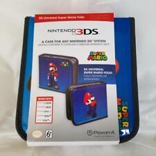 DS Universal Super Mario Folio / Case 2DS 3DS 3DSXL DSi-DSiXL Brand New