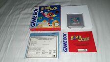 Jeu Nintendo Game Boy Gameboy Bomb Jack complet