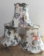 """COUNTRY HOUSE FLORAL LAMP SHADE 8 3/4"""" T"""