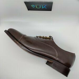 Samuel Windsor Hand Made Leather Brogues Tan Brown UK 10 US 11 EU 45 Men's Shoes