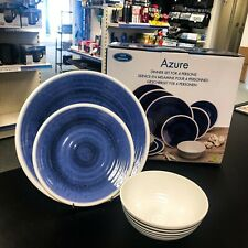 AZURE 12PC DINNER SET by Flamefield