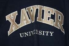 Xavier University  Gear For Sport Big Cotton Blue Sweatshirt Size M