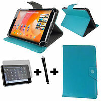 3er Set Asus ZenPad 10 Z300M 6A066A  Tasche + Folie Pen 10 Zoll Türkis baby blau