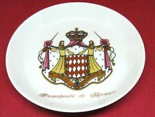 "Royal Monaco Lovely Small Plate ""Principaute' de Monaco"" Trinket Dresser Tray"