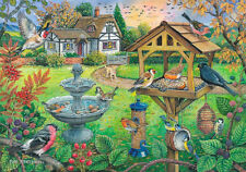 The House Of Puzzles - 500 BIG PIECE JIGSAW PUZZLE - Bird Table Big Pieces
