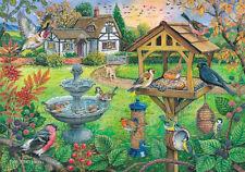 La maison de puzzles - 500 Gros Morceau Jigsaw Puzzle-Bird Table Big PIECES