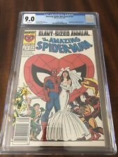 AMAZING SPIDER-MAN ANNUAL 21 CGC 9.0 WHITE NEWSTAND Edition