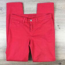 J Brand Skinny Leg Bright Red Women's Jeans Size 27 Actual W29 L29.5 (QQ2)