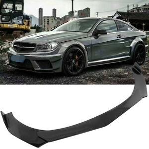 Carbon Fiber For Mercedes Benz W205 W204 W212 Front Bumper Lip Splitter Spoiler
