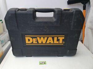 Empty DEWALT 181 Piece Mechanics Tool Set - CASE ONLY used 1 latch missing