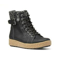 Womens Boot Collared Boot in Black by Relife Size EU 36,37,38,39,40,41,42