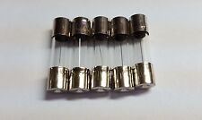 LOT OF 5 NEW F5AL250V FUSES 5A 250V 5mm x 20mm