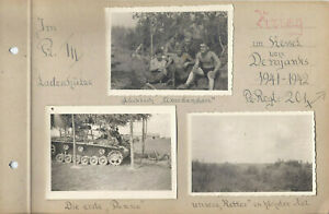Foto 1 Panzer  Panther  Krieg Demjanks  Panzer Regt. 201  org. Fotos  Panzerfahr