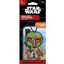 Plasticolor 005417R01 Star Wars Boba Fett Wiggler Air Freshener