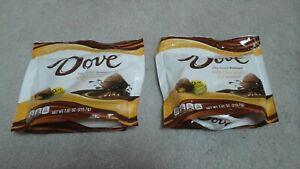 (2) Count Lot Dove Silky Smooth Promises Milk Chocolate & Caramel 7.61 Oz Each