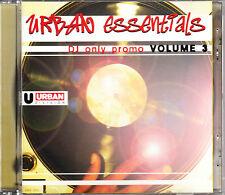 URBAN ESSENTIALS Volume 3 Double DJ Promo CD So-Urban Records XPCD2899 @NEW@