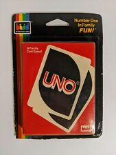 Uno Card Game 1985 Vintage International Games Sealed Unopened