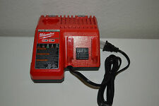 New Genuine MILWAUKEE M12 & M18  48-59-1812 DUAL Multi Voltage 18v 12v Charger