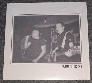 RAW CUTS 87 ISD LTD Combat 84 Oi Skin rock o rama Head Skull Viking UK Legend