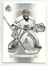 2012-13 SP Authentic Hockey - #130 - Jonathan Quick - Los Angeles Kings