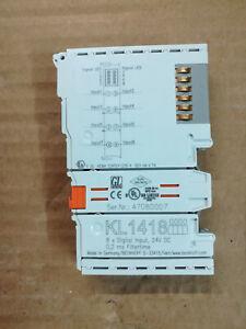 Beckhoff KL1418 | 8-Kanal-Digital-Eingangsklemme 24 V DC