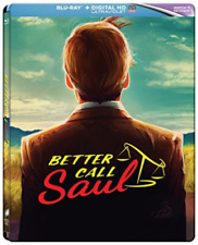 BETTER CALL SAUL : Season 1  Blu ray Steelbook - 3 disc set ( NEW )