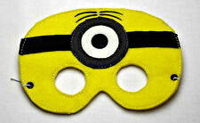 Handmade Kids Mask  - 1 Eye Minion - Despicable Me - Dress up costume